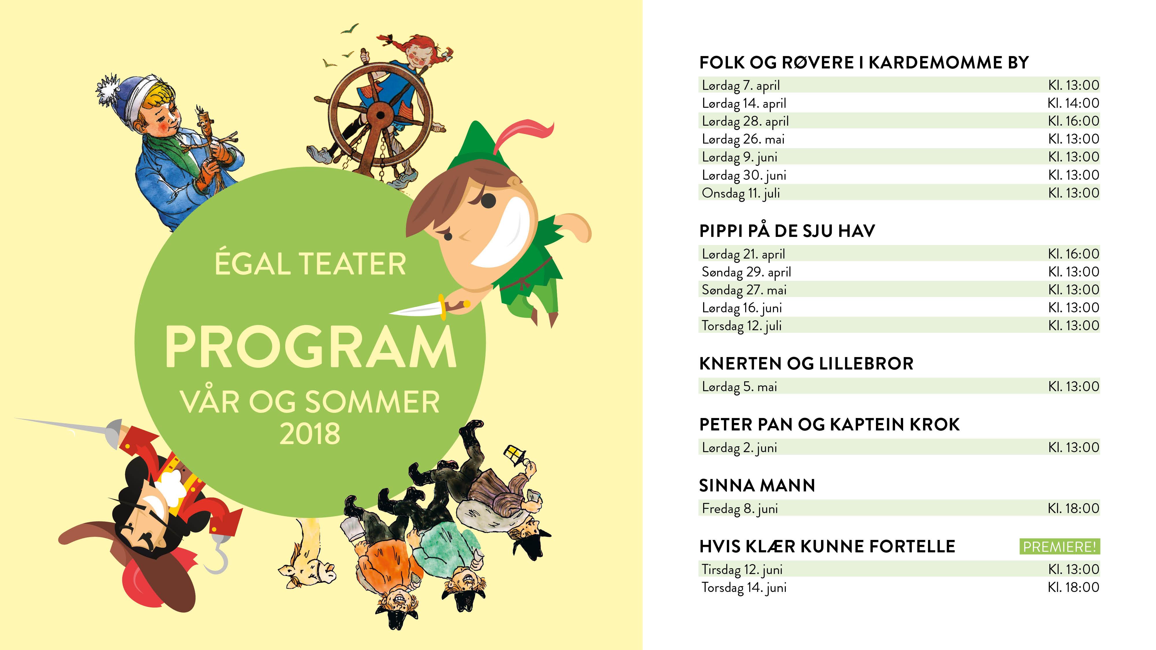 sommerprogram norwegian 2017